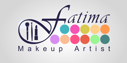 Corporate ID design for the social media pages of Fatima makeup artist